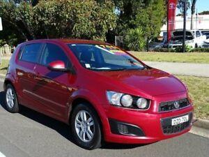 2012 Holden Barina TM MY13 CD Red 6 Speed Automatic Hatchback Ulladulla Shoalhaven Area Preview