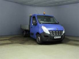 2013 RENAULT MASTER ML35 DCI 125 SINGLE CAB MWB ALLOY TIPPER FWD TIPPER DIESEL