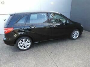 2014 Mercedes-Benz B-Class W246 B180 DCT Black 7 Speed Sports Automatic Dual Clutch Hatchback Coburg North Moreland Area Preview