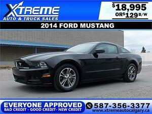 2014 Ford Mustang V6 $129 bi-weekly APPLY NOW DRIVE NOW