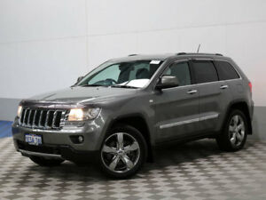 2011 Jeep Grand Cherokee WK Limited (4x4) Grey 5 Speed Automatic Wagon