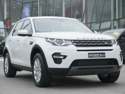 2016 Land Rover Discovery Sport L550 16.5MY Td4 SE White 9 Speed Sports Automatic Wagon