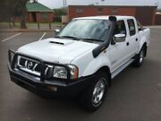 2013 Nissan Navara D22 Series 5 ST-R (4x4) 5 Speed Manual Dual Cab Pick-up Clarence Gardens Mitcham Area Preview
