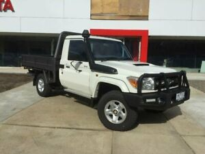 2014 Toyota Landcruiser VDJ79R MY12 Update GXL (4x4) French Vanilla 5 Speed Manual Cab Chassis Seymour Mitchell Area Preview