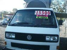 1991 Volkswagen Kombi TRANSPORT poptop White 4 SPEED Automatic Campervan Nanango South Burnett Area Preview