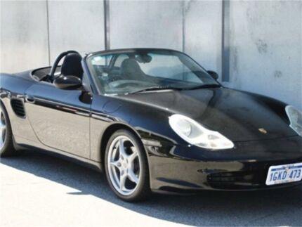 2004 Porsche Boxster Black Manual Convertible Mount Hawthorn Vincent Area Preview