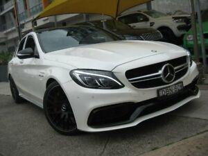 2015 Mercedes-Benz C63 205 AMG S White 7 Speed Automatic Sedan Homebush Strathfield Area Preview