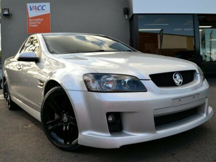 2009 Holden Ute VE MY10 SV6 Silver 6 Speed Manual Utility Fawkner Moreland Area Preview