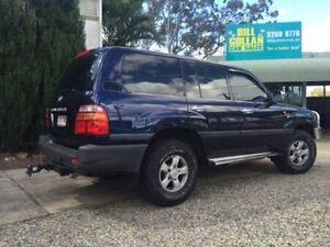 2000 Toyota Landcruiser FZJ105R GXL Blue 4 Speed Automatic Wagon Deagon Brisbane North East Preview
