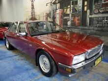 1988 Jaguar XJ6  Burgundy 4 Speed Automatic Sedan Marrickville Marrickville Area Preview