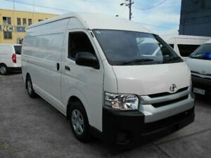 2017 Toyota HiAce KDH221R MY16 SLWB White 4 Speed Automatic Van Five Dock Canada Bay Area Preview