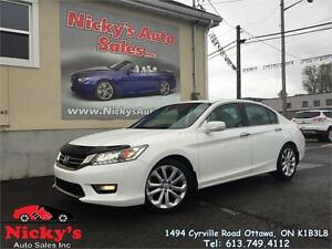 2013 Honda Accord TOURING - NAVIGATION - BACKUP & SIDE VIEW CAM!