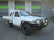 2005 Nissan Patrol GU II DX White 5 Speed Manual Cab Chassis Coopers Plains Brisbane South West Preview