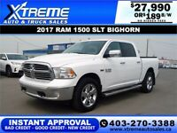 2017 RAM 1500 SLT BIG HORN *INSTANT APPROVAL* $189/BW! Calgary Alberta Preview
