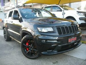 2016 Jeep Grand Cherokee WK MY16 SRT Night Edition Black 8 Speed Automatic Wagon Homebush Strathfield Area Preview