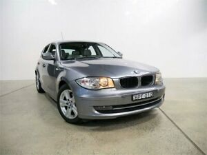2010 BMW 118d E87 MY09 Space Grey 6 Speed Automatic Hatchback Petersham Marrickville Area Preview