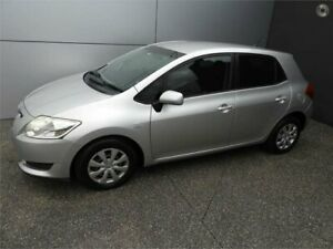 2007 Toyota Corolla ZZE122R 5Y Ascent Silver 4 Speed Automatic Hatchback Coburg North Moreland Area Preview