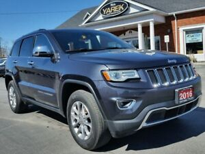 2016 Jeep Grand Cherokee Limited 4x4, Heated/Vented Leather Seat