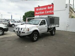 2004 Nissan Navara D22 MY2003 DX White 5 Speed Manual Cab Chassis Coopers Plains Brisbane South West Preview