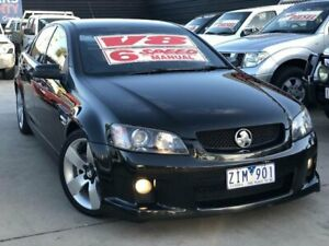 2009 Holden Commodore VE MY09.5 SS-V Black 6 Speed Manual Sedan Werribee Wyndham Area Preview