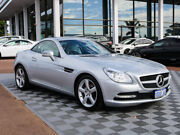 2012 Mercedes-Benz SLK200 R172 BlueEFFICIENCY 7G-Tronic + Silver 7 Speed Sports Automatic Roadster Alfred Cove Melville Area Preview