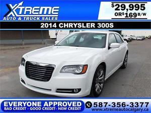 2014 Chrysler 300S $169 bi-weekly APPLY NOW DRIVE NOW