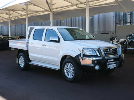 2012 Toyota Hilux GGN25R MY12 SR5 (4x4) White 5 Speed Automatic Dual Cab Pick-up Morley Bayswater Area Preview