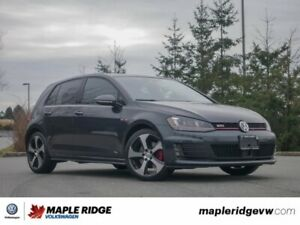 2015 Volkswagen Golf GTI Autobahn 1 OWNER, BC CAR, SUPER FUN TO