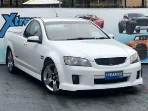 2007 Holden Ute VE SS V White Manual Utility Campbelltown Campbelltown Area Preview