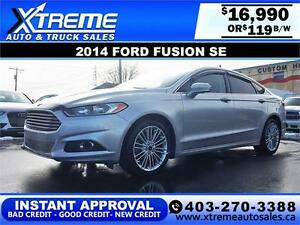 2014 Ford Fusion SE $119 bi-weekly APPLY NOW DRIVE NOW
