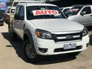 2010 Ford Ranger PK XL (4x2) White 5 Speed Automatic Dual Cab Pick-up Werribee Wyndham Area Preview