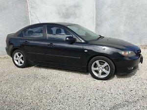 2004 Mazda 3 BK Maxx Sport Black 5 Speed Manual Sedan Seaford Frankston Area Preview