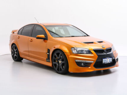 2010 Holden Special Vehicles GTS E2 Series Wildfire 6 Speed Auto Active Sequential Sedan Jandakot Cockburn Area Preview