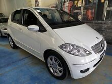2007 Mercedes-Benz A200 W169 MY07 Elegance White 7 Speed Constant Variable Hatchback Marrickville Marrickville Area Preview