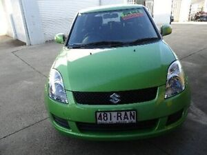 2010 Suzuki Swift RS415 GLX Green Apple Manual Hatchback Kippa-ring Redcliffe Area Preview