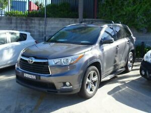2016 Toyota Kluger GSU55R Grande (4x4) Grey 6 Speed Automatic Wagon Ulladulla Shoalhaven Area Preview