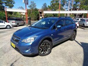 2014 Subaru XV MY14 2.0I Blue 6 Speed Manual Wagon Sylvania Sutherland Area Preview
