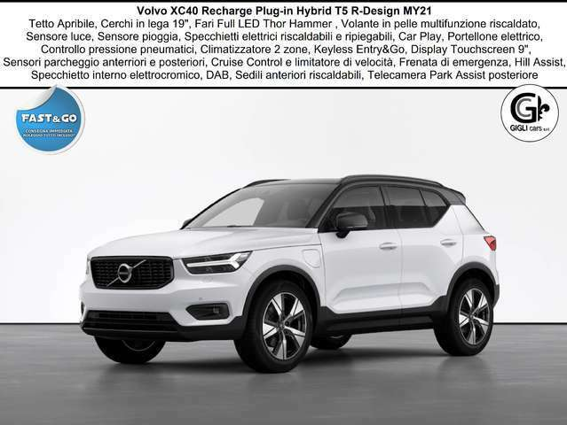 Volvo XC40 T5 Recharge R-design C19 Navi Tetto PDC WinterPack