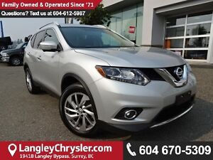 2015 Nissan Rogue SL *ACCIDENT FREE*ONE OWNER*LOCAL BC CAR*