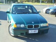 1991 BMW 318I E30 Green 4 Speed Automatic Sedan Bundall Gold Coast City Preview