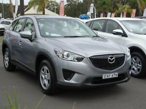 2014 Mazda CX-5 MY13 Upgrade Maxx (4x2) Silver 6 Speed Automatic Wagon South Nowra Nowra-Bomaderry Preview