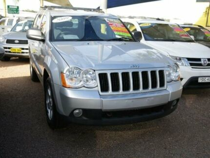 2009 Jeep Grand Cherokee WH MY2009 Laredo Silver 5 Speed Automatic Wagon
