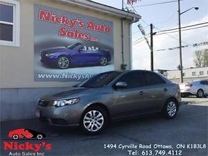 2011 Kia Forte LX PLUS, AUTOMATIC, POWER GROUP, ACCIDENT FREE!