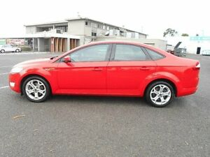 2008 Ford Mondeo MA Zetec Red 6 Speed Automatic Sedan Maidstone Maribyrnong Area Preview