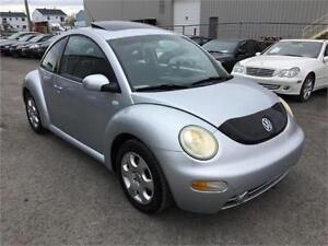 2002 Volkswagen New Beetle GLS, FINANCEMENT MAISON*LIQUIDATION*