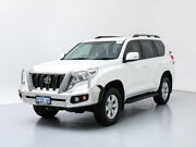 2014 Toyota Landcruiser Prado KDJ150R MY14 GXL (4x4) White 5 Speed Sequential Auto Wagon Jandakot Cockburn Area Preview