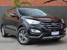 2013 Hyundai Santa Fe DM MY13 Active Black 6 Speed Sports Automatic Wagon Fawkner Moreland Area Preview