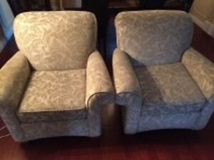 Pair of Beautiful Wing back chairs