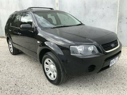 2007 Ford Territory SY TX (RWD) Black 4 Speed Auto Seq Sportshift Wagon Seaford Frankston Area Preview