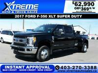 2017 FORD F-350 SD LARIAT DUALLY  *INSTANT APPROVAL* $369/BW! Calgary Alberta Preview